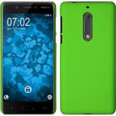 Hardcase for Nokia 5 rubberized green