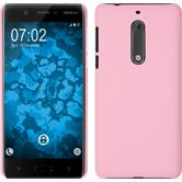 Hardcase for Nokia 5 rubberized pink