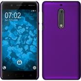 Hardcase for Nokia 5 rubberized purple