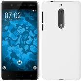 Hardcase for Nokia 5 rubberized white