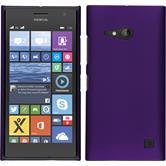 Hardcase for Nokia Lumia 730 rubberized purple