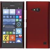 Hardcase for Nokia Lumia 730 rubberized red