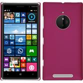 Hardcase for Nokia Lumia 830 rubberized hot pink