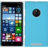 Hardcase for Nokia Lumia 830 rubberized light blue