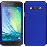 Hardcase for Samsung Galaxy A3 rubberized blue