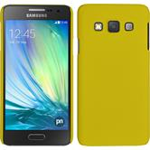 Hardcase for Samsung Galaxy A3 rubberized yellow
