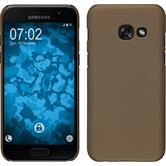 Hardcase Galaxy A5 2017 rubberized gold