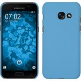 Hardcase Galaxy A5 2017 rubberized light blue