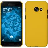 Hardcase Galaxy A5 2017 rubberized yellow