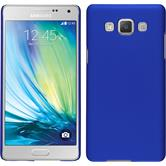 Hardcase for Samsung Galaxy A5 rubberized blue