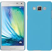 Hardcase for Samsung Galaxy A5 rubberized light blue
