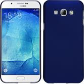 Hardcase for Samsung Galaxy A8 (2015) rubberized blue