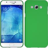 Hardcase for Samsung Galaxy A8 (2015) rubberized green