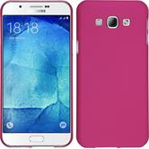 Hardcase for Samsung Galaxy A8 (2015) rubberized hot pink