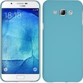 Hardcase for Samsung Galaxy A8 (2015) rubberized light blue