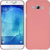 Hardcase for Samsung Galaxy A8 (2015) rubberized pink
