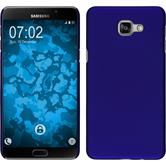 Hardcase for Samsung Galaxy A9 rubberized blue