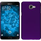 Hardcase for Samsung Galaxy A9 rubberized purple