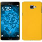 Hardcase for Samsung Galaxy A9 rubberized yellow