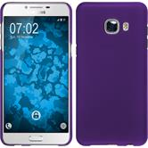 Hardcase for Samsung Galaxy C5 rubberized purple