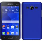 Hardcase for Samsung Galaxy Core 2 rubberized blue