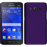 Hardcase for Samsung Galaxy Core 2 rubberized purple