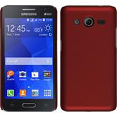 Hardcase for Samsung Galaxy Core 2 rubberized red