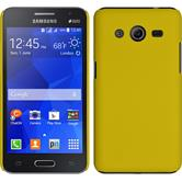 Hardcase for Samsung Galaxy Core 2 rubberized yellow