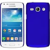 Hardcase for Samsung Galaxy Core Plus rubberized blue
