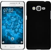 Hardcase Galaxy Grand Prime Plus rubberized black