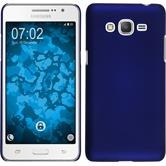 Hardcase Galaxy Grand Prime Plus rubberized blue