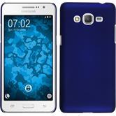 Hardcase Galaxy Grand Prime Plus rubberized blue