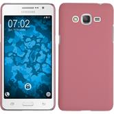 Hardcase Galaxy Grand Prime Plus rubberized pink