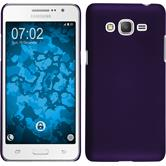 Hardcase Galaxy Grand Prime Plus rubberized purple