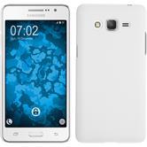 Hardcase Galaxy Grand Prime Plus rubberized white