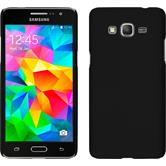 Hardcase for Samsung Galaxy Grand Prime rubberized black