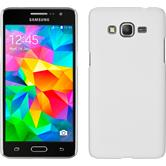Hardcase for Samsung Galaxy Grand Prime rubberized white