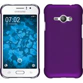 Hardcase for Samsung Galaxy J1 Ace rubberized purple