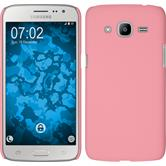 Hardcase for Samsung Galaxy J2 (2016) rubberized pink