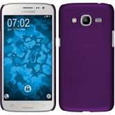 Hardcase for Samsung Galaxy J2 (2016) rubberized purple