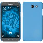 Hardcase Galaxy J3 Emerge rubberized light blue