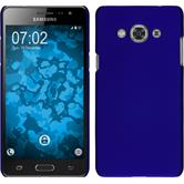 Hardcase for Samsung Galaxy J3 Pro rubberized blue