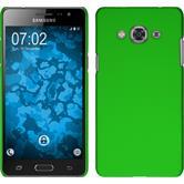 Hardcase for Samsung Galaxy J3 Pro rubberized green