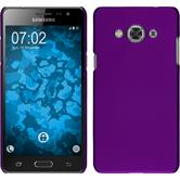 Hardcase for Samsung Galaxy J3 Pro rubberized purple