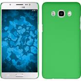Hardcase for Samsung Galaxy J5 (2016) rubberized green