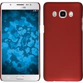 Hardcase for Samsung Galaxy J5 (2016) rubberized red