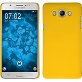 Hardcase Galaxy J7 (2016) J710 rubberized yellow
