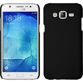 Hardcase for Samsung Galaxy J7 rubberized black