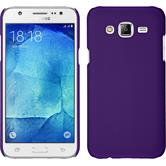 Hardcase for Samsung Galaxy J7 rubberized purple