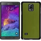 Hardcase for Samsung Galaxy Note 4 metallic green